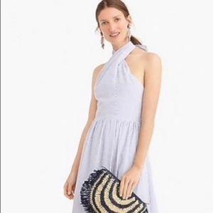 J Crew Seersucker Dress